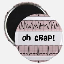"""oh crap cell phone cases CP.PNG 2.25"""" Magnet (100"""