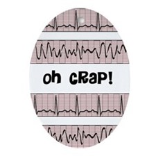 oh crap cell phone cases CP.PNG Ornament (Oval)