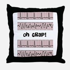 oh crap cell phone cases CP.PNG Throw Pillow
