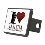 I Heart Tabby Rectangular Hitch Cover