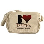 I Heart Tabby Messenger Bag