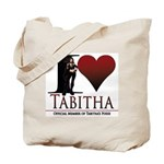 I Heart Tabby Tote Bag