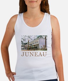 Juneau Old Witch Totem Nugget Shop Women's Tank To