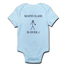 Math Class is Over :( Infant Bodysuit