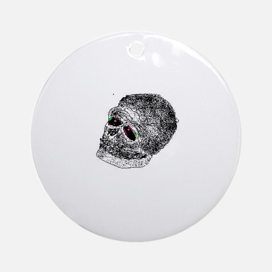 skullie Ornament (Round)
