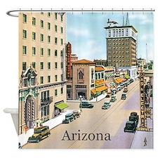 Vintage Arizona Shower Curtain