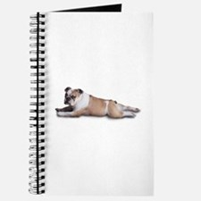 Lounging Bulldog Journal