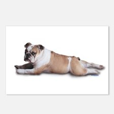 Lounging Bulldog Postcards (Package of 8)