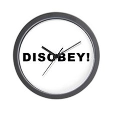 Disobey! Wall Clock