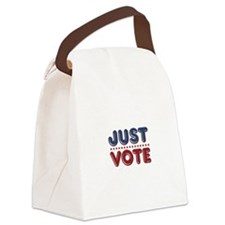 Just VOTE Canvas Lunch Bag