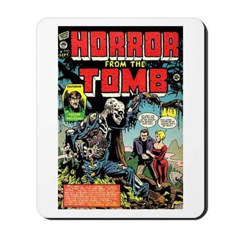 Horror From the Tomb #1 Mousepad