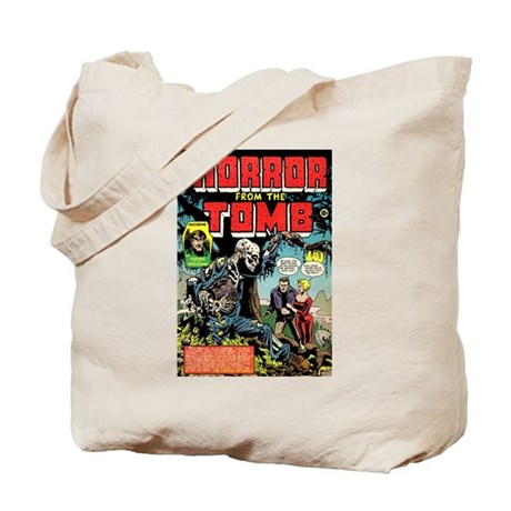 Horror From the Tomb #1 Tote Bag