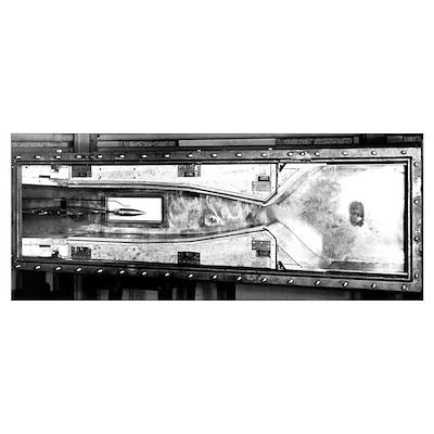 Mach 2.5 wind tunnel Poster