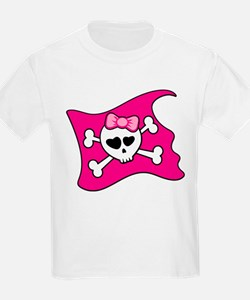 Cute Skull heart T-Shirt