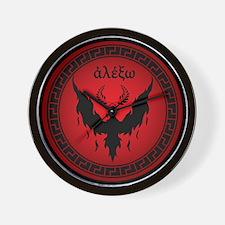 Styxx Symbol Wall Clock