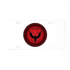 Styxx Symbol Aluminum License Plate
