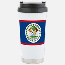 Flag of Belize Stainless Steel Travel Mug