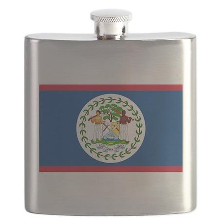 Flag of Belize Flask
