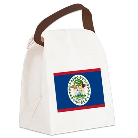 Flag of Belize Canvas Lunch Bag