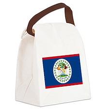Flag of Belize Canvas Lunch Bag