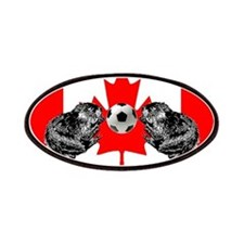 Canadian Beaver Flag Patches