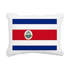 Flag of Costa Rica Rectangular Canvas Pillow