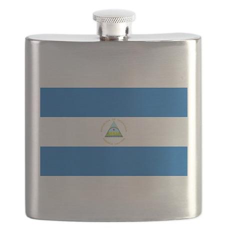 Flag of Nicaragua Flask