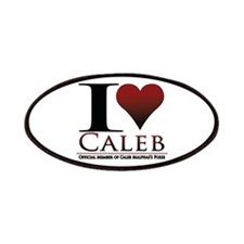 I Heart Caleb Patches