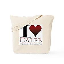 I Heart Caleb Tote Bag