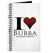 I Heart Bubba Journal