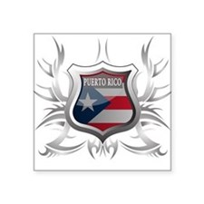"puerto rico.png Square Sticker 3"" x 3"""