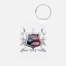 Puerto rican pride Keychains