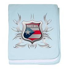 Puerto rican pride Infant Blanket