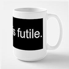 Resistance is Futile Large Mug