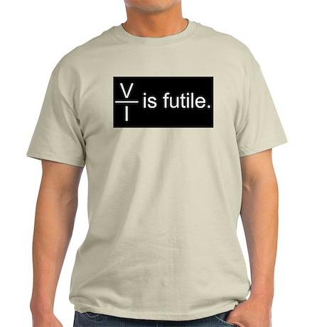Resistance is Futile Light T-Shirt