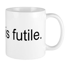 Resistance is Futile Small Mug