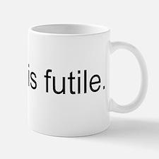 Resistance is Futile Small Small Mug