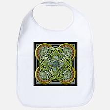 Green Celtic Tapestry Bib
