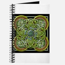 Green Celtic Tapestry Journal