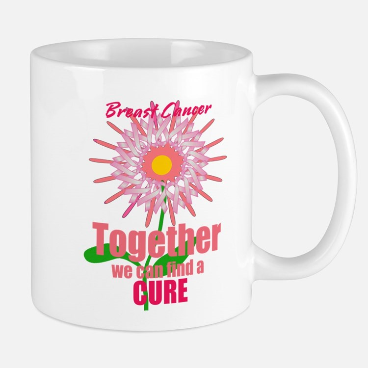 Breast Cancer, Together we can find a CURE Mug