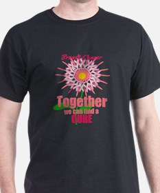 Breast Cancer, Together we can find a CURE T-Shirt