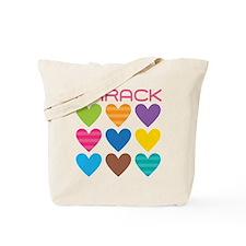Barack Hearts Tote Bag
