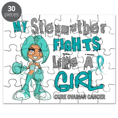 Fights Like a Girl 42.9 Ovarian Cancer Puzzle