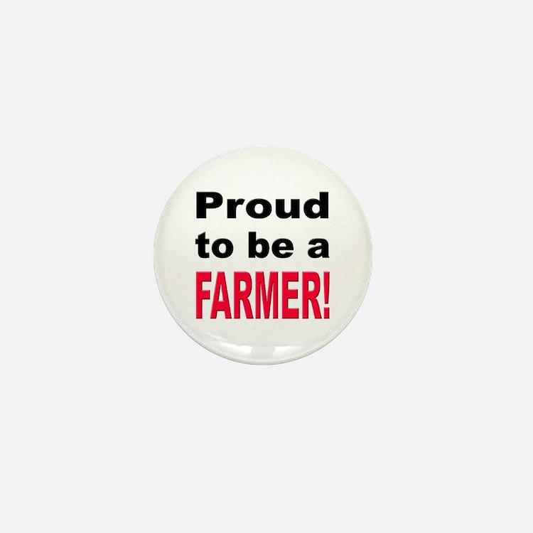 Proud Farmer Mini Button