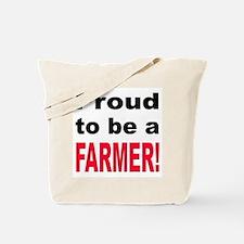 Proud Farmer Tote Bag
