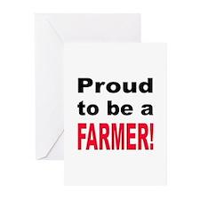 Proud Farmer Greeting Cards (Pk of 10)
