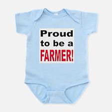 Proud Farmer Infant Creeper