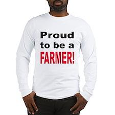 Proud Farmer Long Sleeve T-Shirt