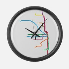 Cute Chicago Large Wall Clock