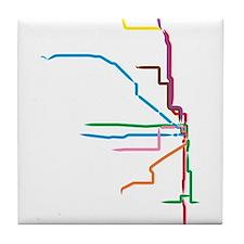 Unique Chicago Tile Coaster